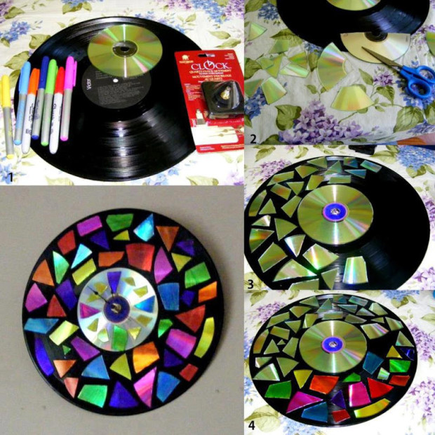 DIY Ideas How To Recycle CDs