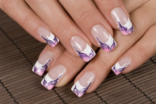 lovely-french-manicure-nail-art-ideas-