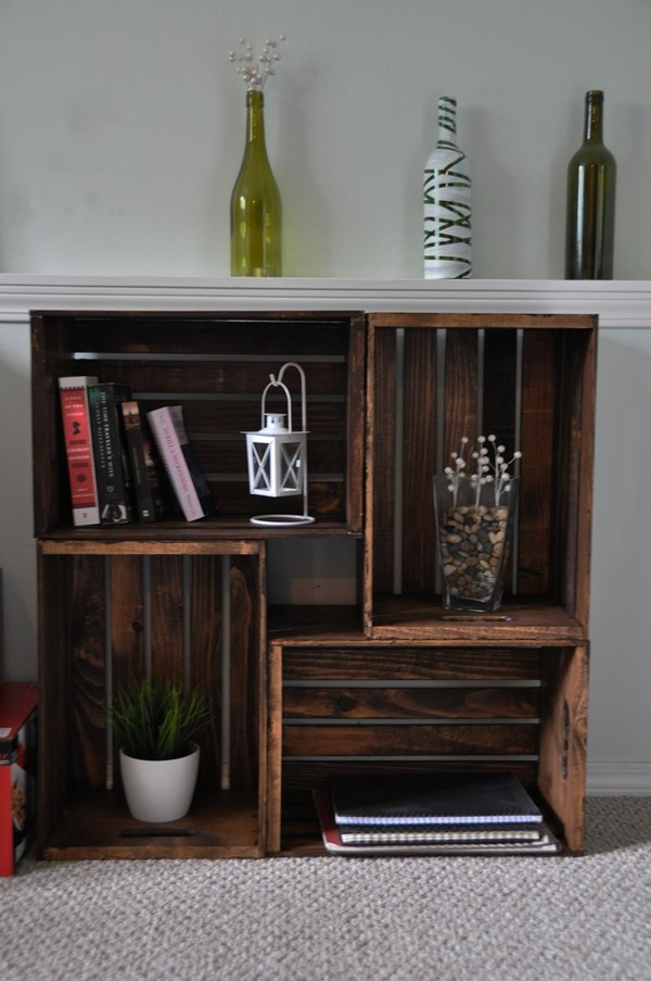 recycling old wine crates 1