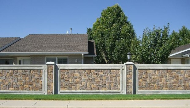 Stone Fence Home Design - My Daily Magazine - Art, Design, DIY ...