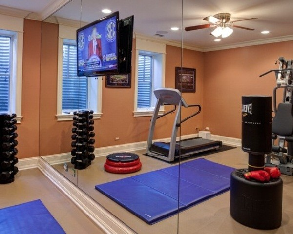 nice decoration for your home gym design ideas