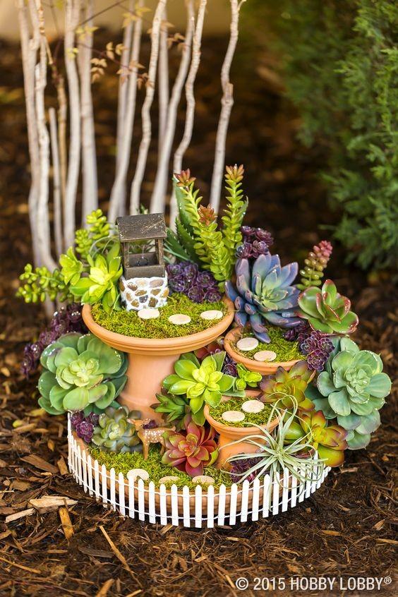 Amazing Mini Fairy Garden ideas 1