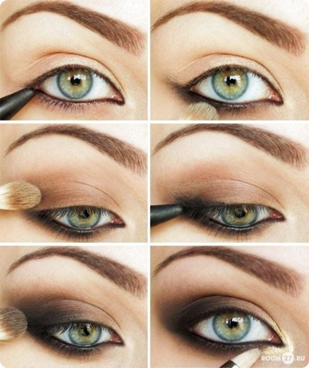 everyday makeup tutorials -green eyes