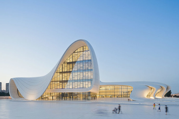 heydar aliyev cultural center baku by zaha hadid 1