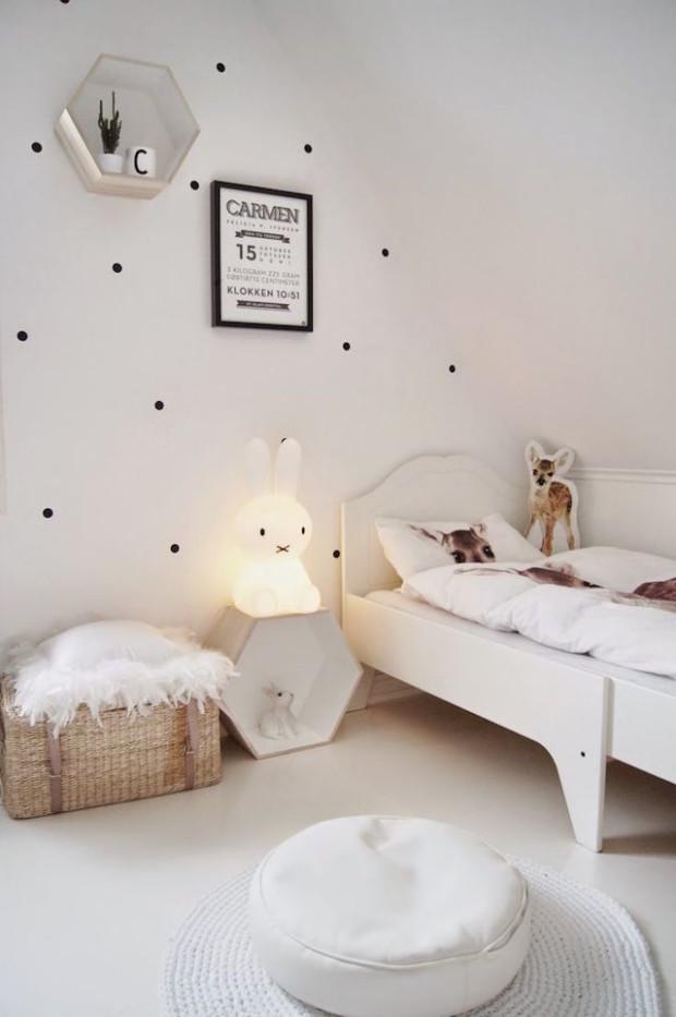 white kids room decor ideas