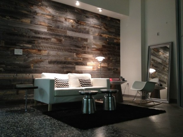 Source · Diy Reclaimed Wood Wall Panels Living Room Part 65