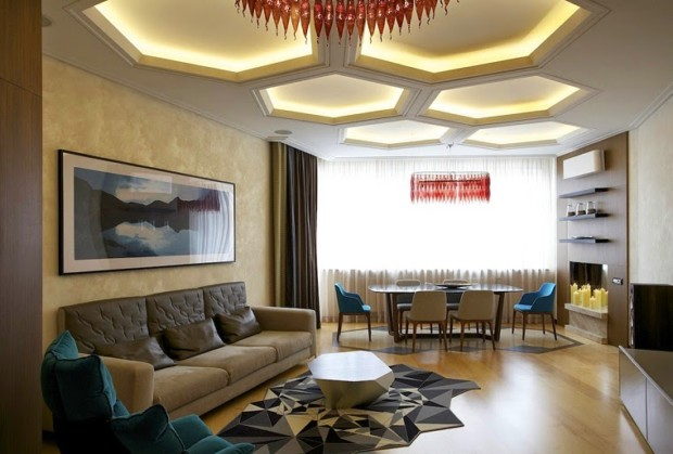 Modern lighting ideas for your home my daily magazine for Living room light fixtures