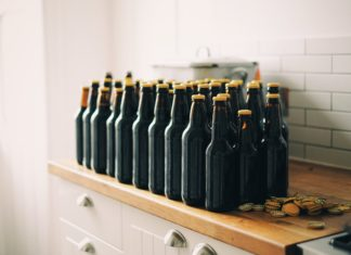 Bottles can be re-used in many DIY projects
